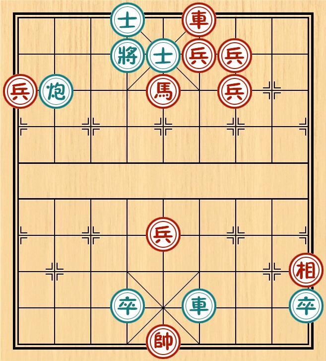寻找心另一个自己的曲谱-一、《百局象棋谱》第   67局《落花流水》;   二、《心武残编》第